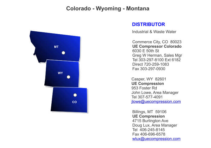 Contact Colorado Wyoming Montana Sales Representative All Star Products, Inc.